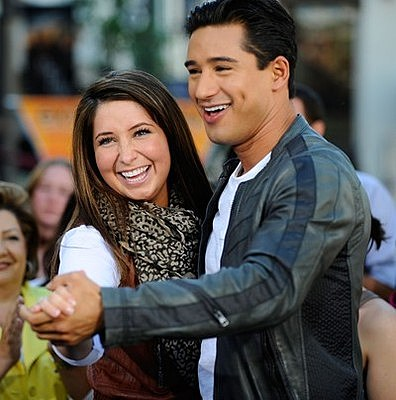 Bristol Palin and Mario Lopez Dance