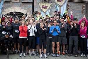 Dean Karnazes' Run Across America Kicks Off At Disneyland