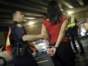 Police Erect DUI Checkpoints