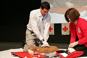 learn cpr and first aid at Save-a-life Saturday
