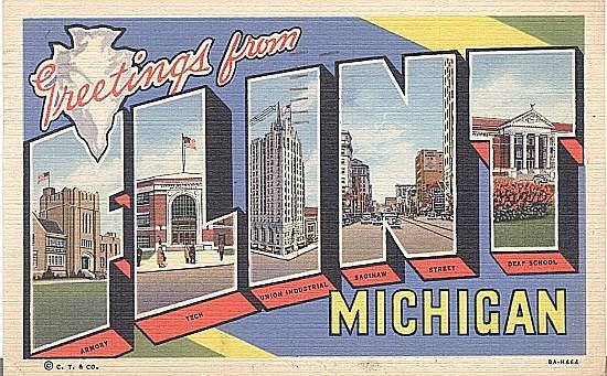 Flint, Michigan Landmarks