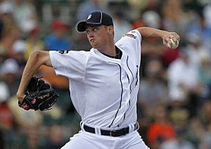 charlie furbush makes Tiger debut