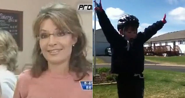 Sarah Palin Gets Some Motivation