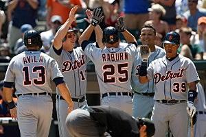 Detroit Tigers v Chicago White Sox Raburn Grand Slam