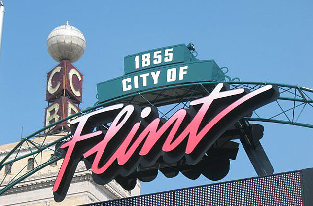 Downtown Flint Michigan