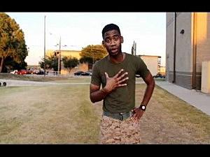 Marine Asks Betty White To Ball