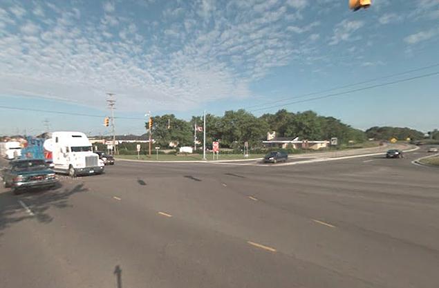 Miller Rd and I-69/I-75 Entrance Ramp