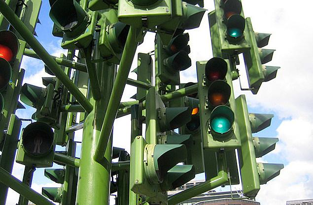 Worst Traffic Lights in Flint