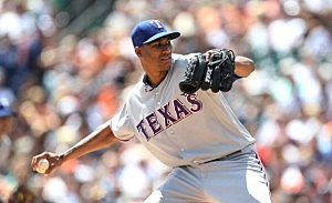 Texas Rangers v Detroit Tigers
