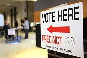 Michigan Voters Participate In Primary