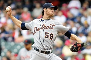 Detroit Tigers Doug Fister