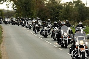 Thousands Of Motorcyclists Gather for Bikes on the Bricks