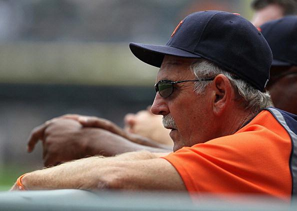Detroit Tigers manager Jim Leyland
