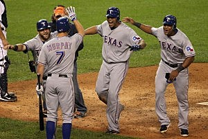 Texas Rangers v Detroit Tigers - Game Four
