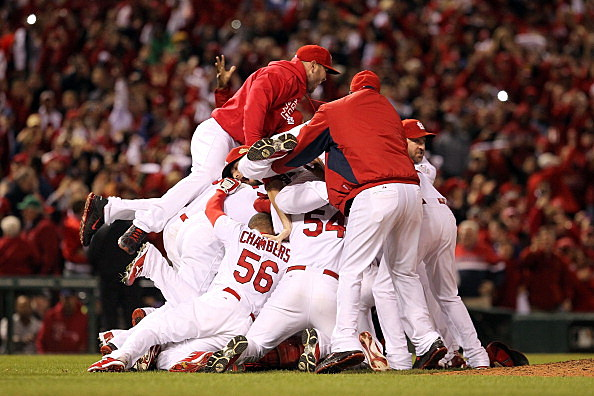 2011 World Series Game 7 - Texas Rangers v St Louis Cardinals