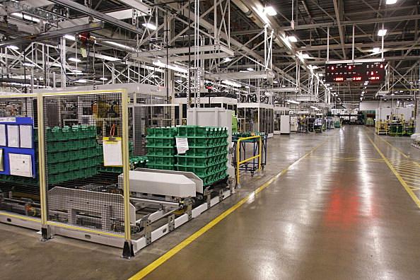 General Motors Make A Powertrain Announcement At Flint Factory