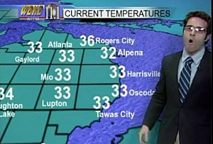 Alpena Weatherman Gets Hipalpena town
