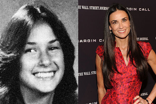 Demi Moore Yearbook Photo