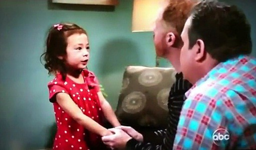 Lily drops the F-Bomb on ABC's Modern Family