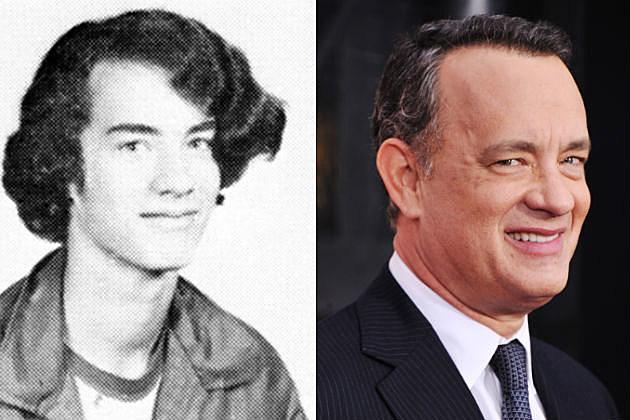 Tom Hanks Yearbook Photo