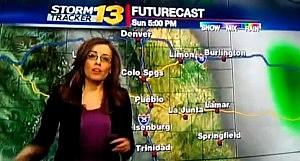 Weather forecaster swears on live TV