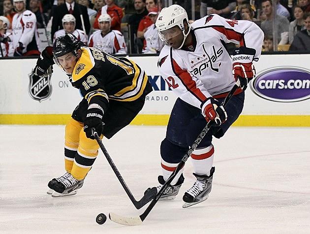 Washington Capitals v Boston Bruins - Game One