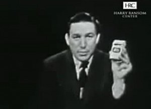 Mike Wallace pitches Phillip Morris cigarettes