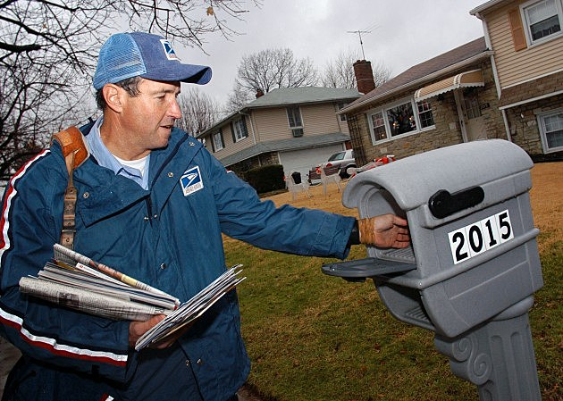 Mail Carriers Food Drive is Saturday