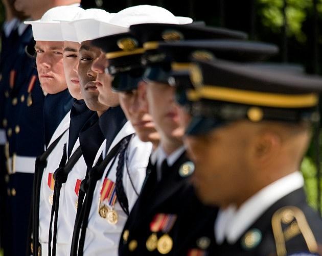 Memorial Day Ceremony At Arlington