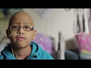 Young cancer patients at Seattle Children's Hospital make a video of Stronger by Kelly Clarkson