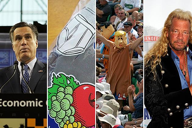 Mitt Romney, Underwear Bombs, Gay Marriage, Mullets