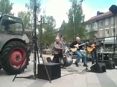 tractor in the band