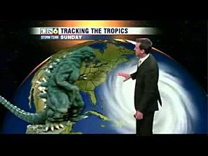 Richmond Virginia weatherman Aaron Justus gets wacky with forecast