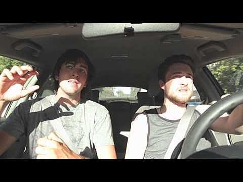 Guys in a car
