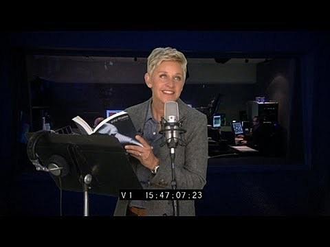 Ellen reads 50 Shades