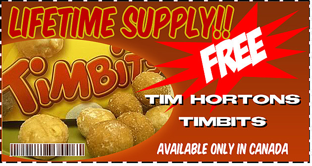 Steph's Phony Coupons - Timbits