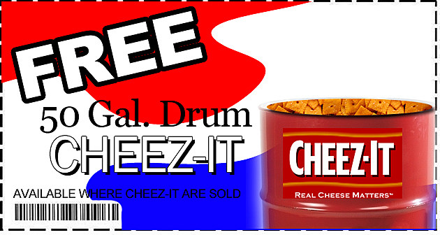 Steph's Phony Coupons - Cheez-It