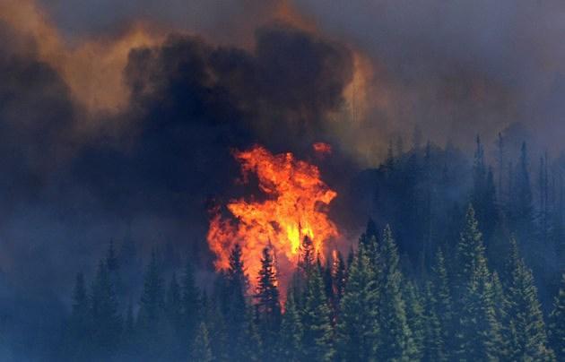 Massive Arizona Wildfire