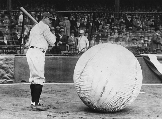 Babe Ruth did everything big