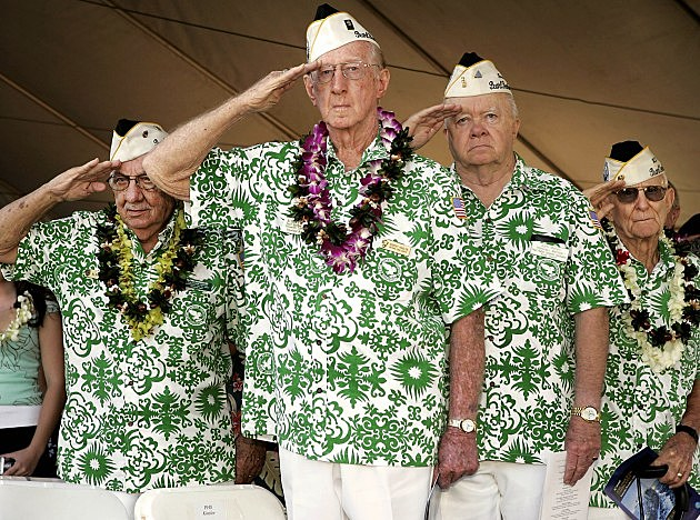 Veterans Commemorate Pearl Harbor Anniversary