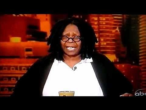 Whoopi Goldberg shares too much on The View