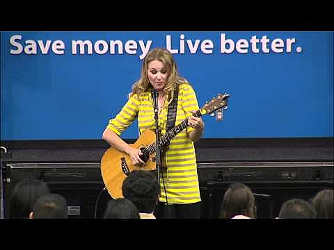 Jewel performs 'The Walmart Song'