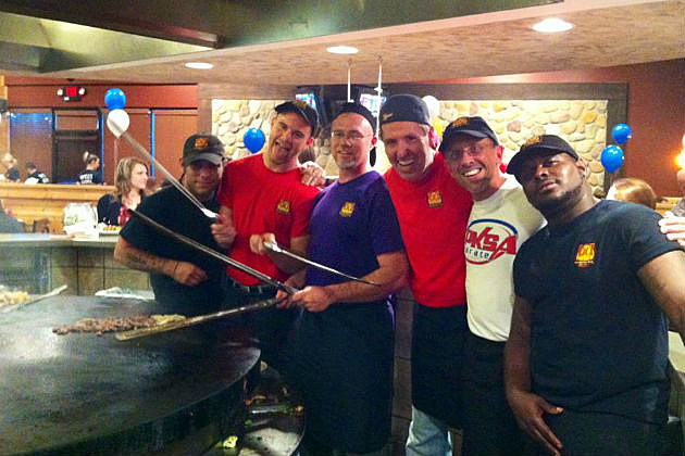 Cars 108's George McIntyre is a guest griller tonight at BD's Mongolian Grill
