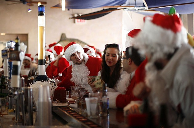 Fewer companies are throwing holiday parties this year.