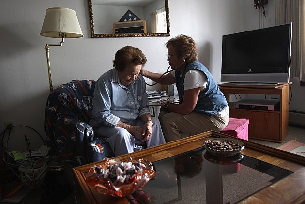 family caregiver takes care of their own