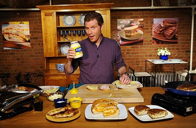 Chef Bobby Flay And Hellmann's  Build The Perfect Sandwich In New York