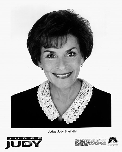 Publicity Stills Of Judge Judy Whos Real Name Is Judy Sheindlin
