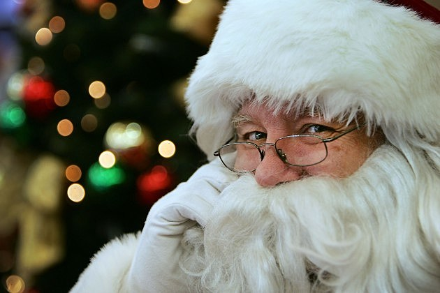 Parents explain Santa Claus to their son