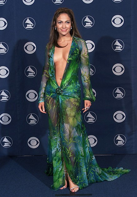 J Lo at the Grammys