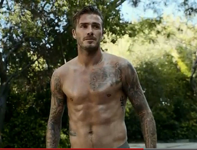 Beckham's underwear